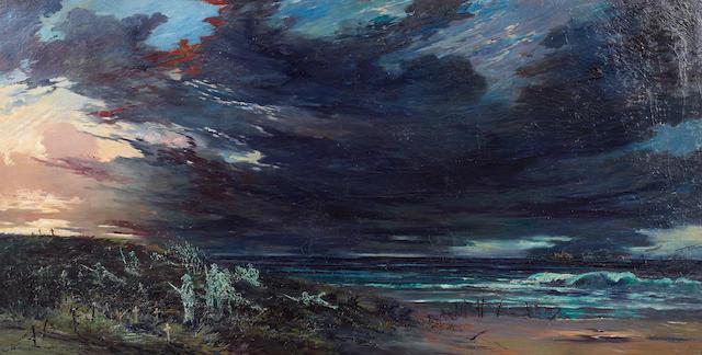 William Francis (Will) Longstaff (Australian, 1879-1953) 'The rearguard (The spirit of ANZAC)'