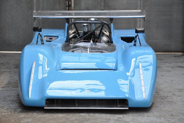 The Ex-Régis Fraissinet,1971-72 LOLA-CHEVROLET T222 CANAM RACING SPORTS SPYDER  Chassis no. HU3