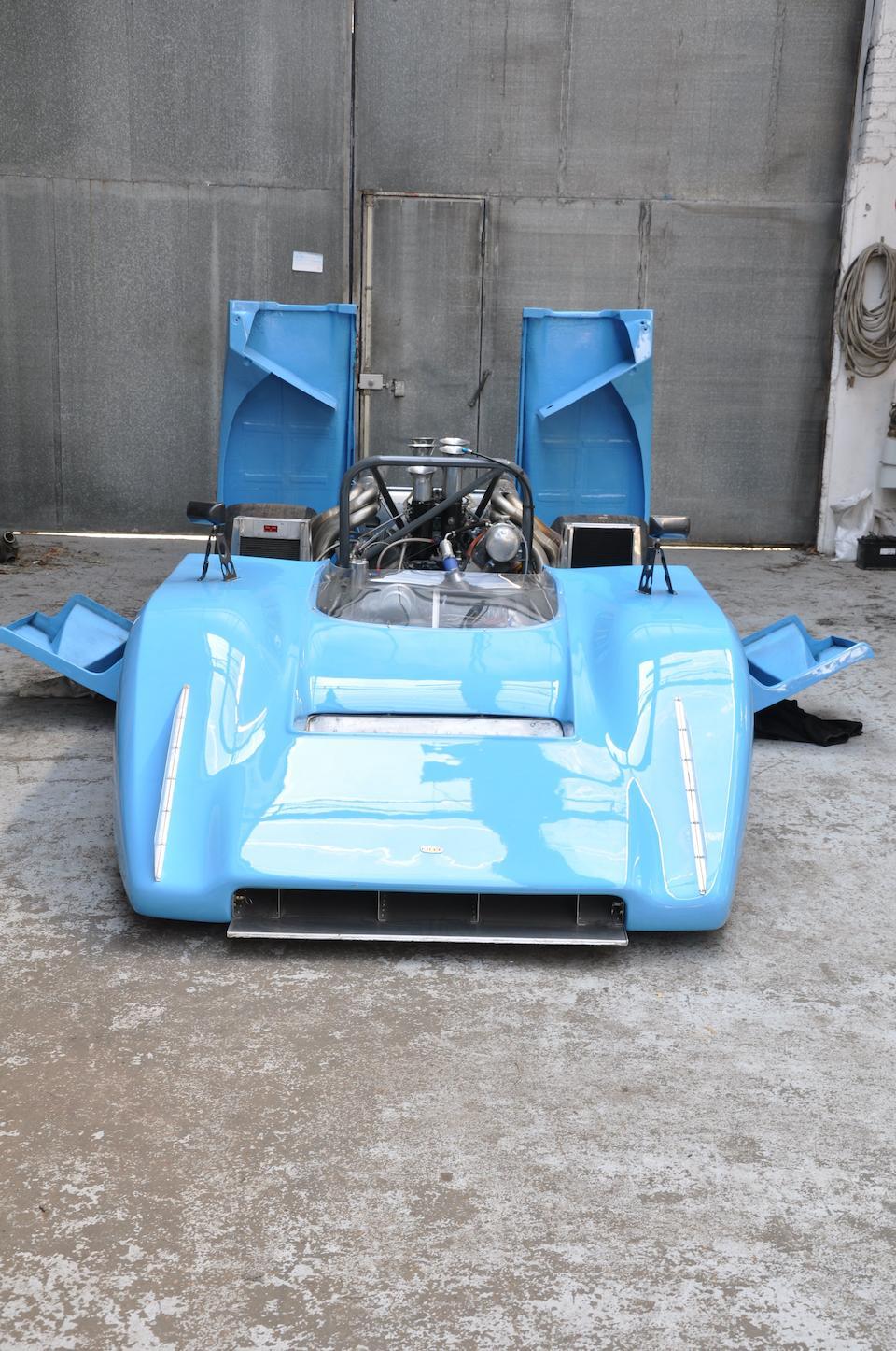 The Ex-Régis Fraissinet,1971-72 LOLA-CHEVROLET T222 CANAM RACING SPORTS SPYDER  Chassis no. HU3