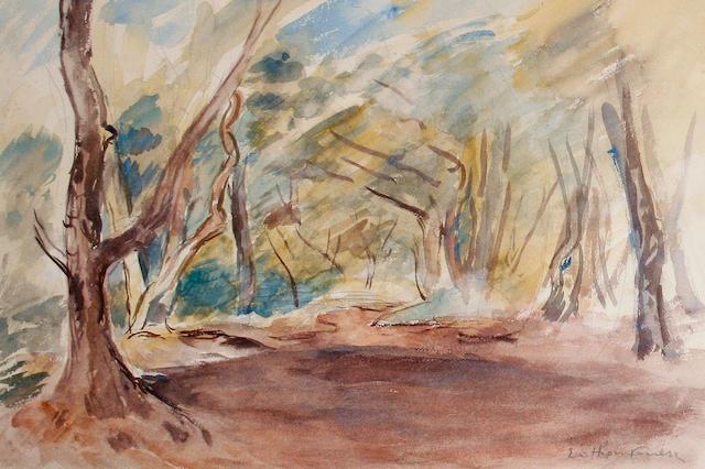 Achille Emile Othon Friesz (French, 1879-1949) Wooded landscape