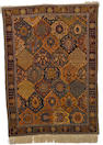 A silk Hereke rug,  possibly Toussounian, West Anatolia, circa 1910 182 x 133cm. (71 5/8 x 52 3/8in.)