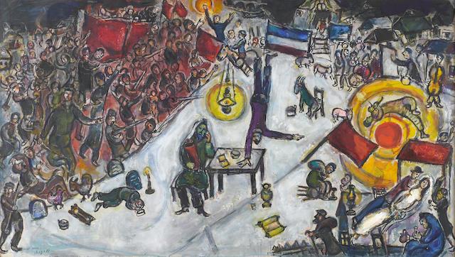 Marc Chagall (Russian/French, 1887-1985) la Revolution