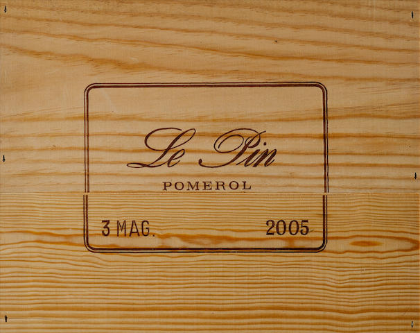 Le Pin 2005 (3 magnums)