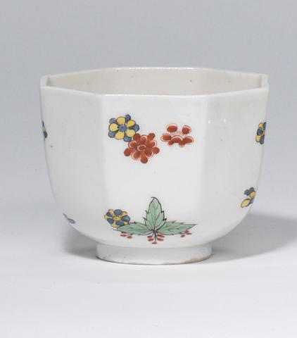 A rare Meissen octagonal beaker Circa 1730