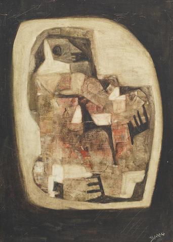 Dia Azzawi (Iraq, born 1939) Untitled,