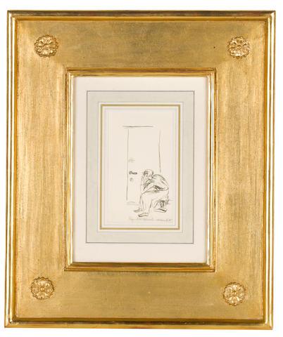 Edvard Munch (Norwegian, 1863-1944) Melancholy