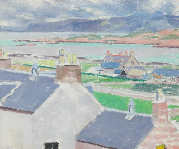 Francis Campbell Boileau Cadell, RSA RSW (British, 1883-1937) Iona