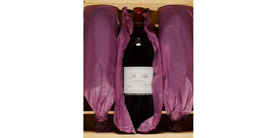 Le Pin 1998 (3 magnums)
