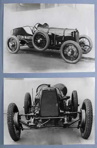 The Ted Inman Hunter Aston Martin scrapbook collection,