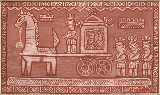 (n/a) Jamini Roy (India, 1887-1972) The Bridegroom's Procession,
