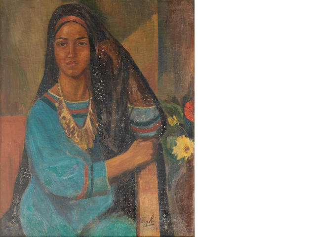 Mohammad Naghi (Egypt, 1888-1956) Daughter of Abd-el Rassoul,