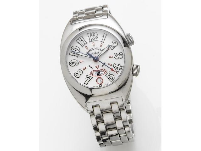 Franck Muller. A stainless steel automatic wristwatchBig Ben, Number 201, Recent