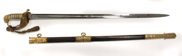 An 1827 Pattern Naval Officer's Sword
