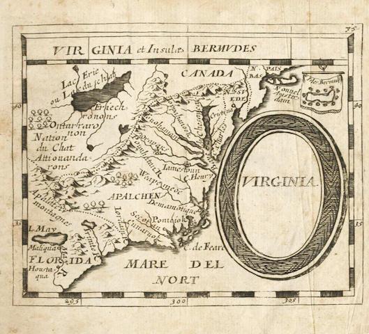 DU VAL (PIERRE) Geographiae universalis pars prior. Das ist: Der allgemeinen Erd=Beschreibung. Ersster Theil .. America, Africa und Asia