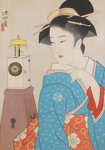 Ito Shinsui (1898-1972) Showa Period, dated 1962