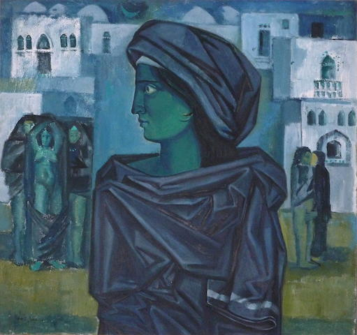 (n/a) Nazir Nabaa (Syria, born 1938) An Eastern Dream,