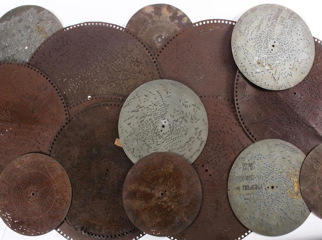 Musical box discs 43