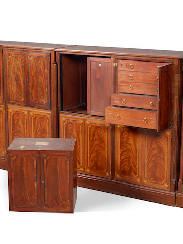 The Sir Joseph Banks collector's cabinets
