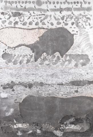 (n/a) Vivan Sundaram (India, born 1943) Untitled, each panel 55 x 75cm (21 5/8 x 29 1/2in); entire work 110 x 75cm (43 5/16 x 29 1/2in)
