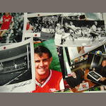 A collection of Arsenal hand signed prints