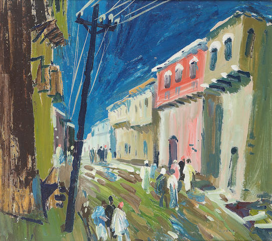 (n/a) Syed Haider Raza (India, born 1922) Hill Station Road,