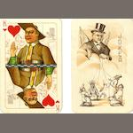 "An ""anti-religions"" pack of playing cards, Soviet Russia, circa 1930,"