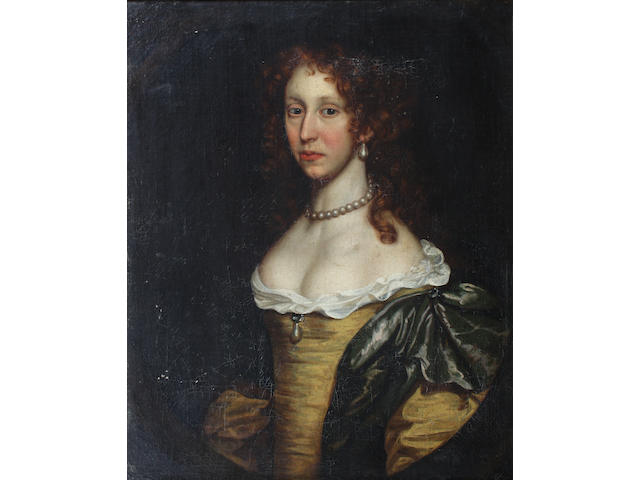 Follower of Sir Peter Lely (British, 1618-1680) 75 x 63cm.
