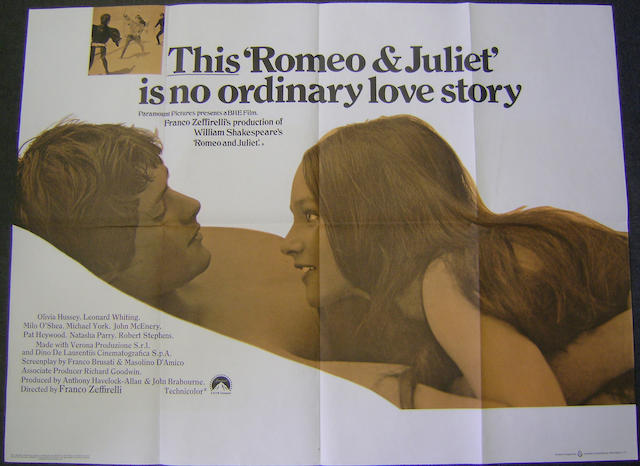 Romeo and Juliet, Paramount Pictures, 1968,