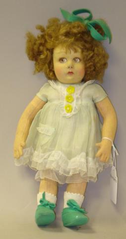 Lenci cloth girl, Italian, 1930's