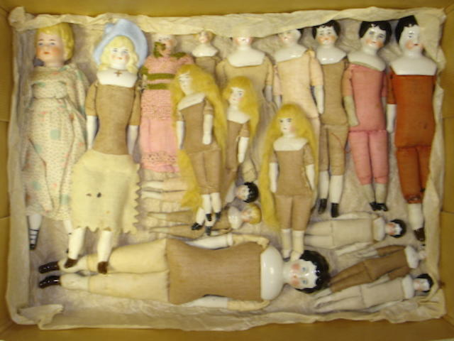 Collection of miniature dolls lot
