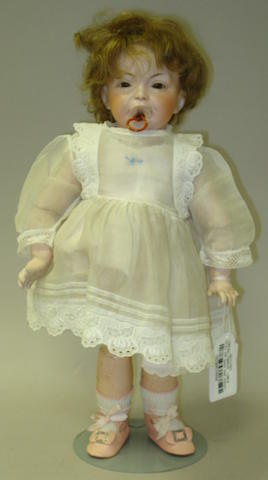 S.F.B.J 228 bisque head character doll