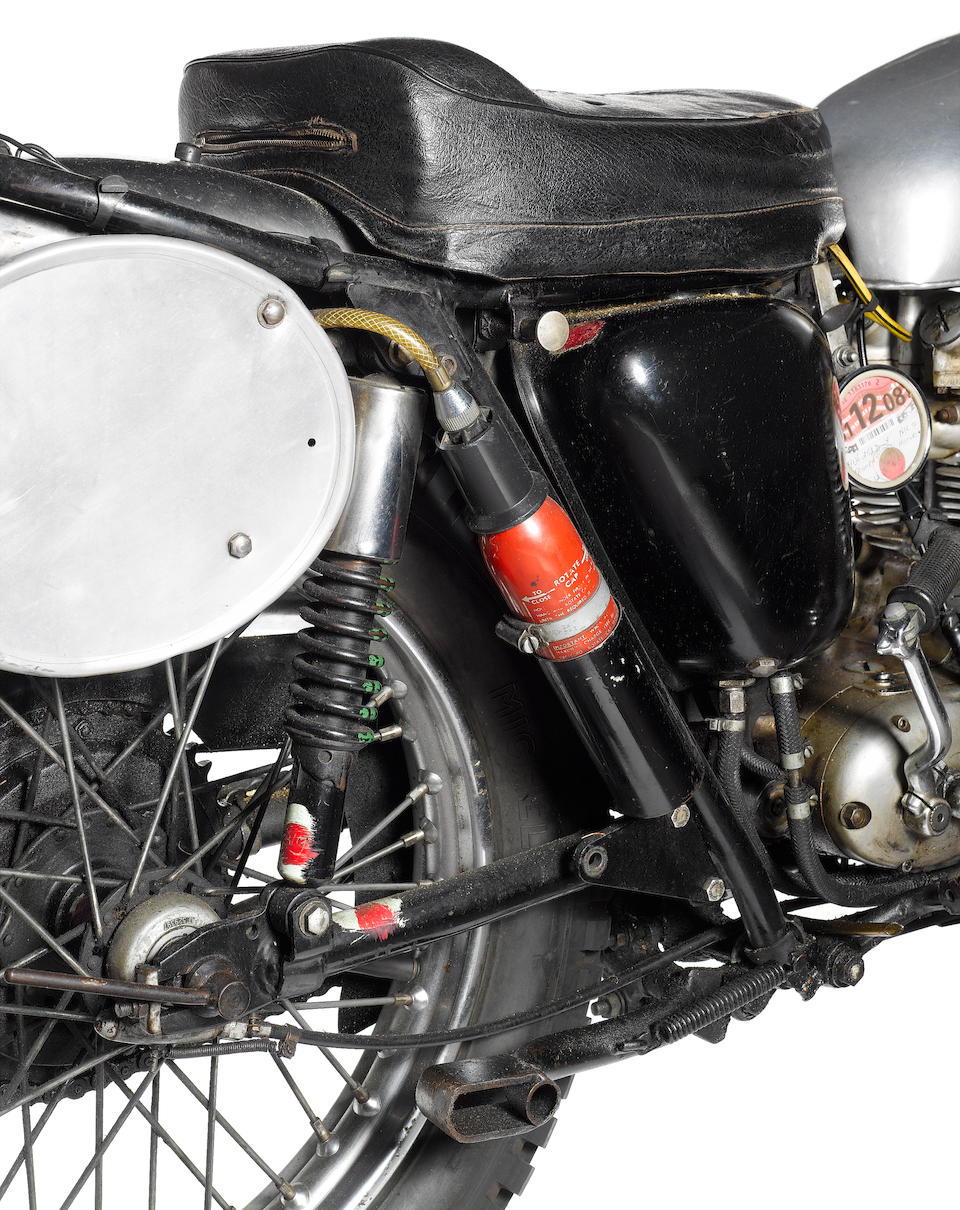 The ex-Roy Peplow, works, ISDT,1966 Triumph 490cc Tiger 100S/C Frame no. H44954 Engine no. T100 S/C H44954