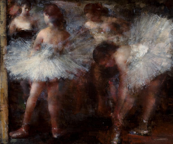 Grigory Gluckmann (Russian/American, 1898-1973) Costume shop