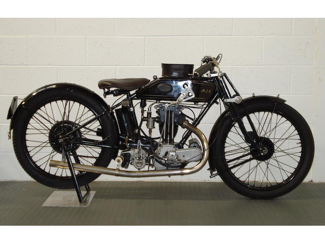 1927 AJS 349cc Model H6 'Big Port' Frame no. H-100214 Engine no. H-100214