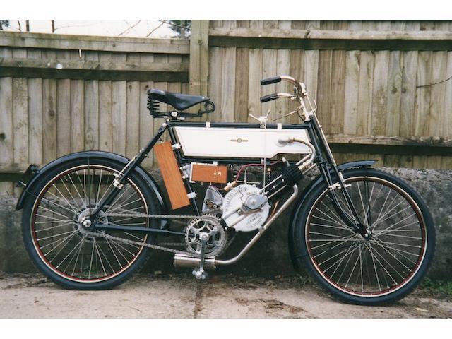 1903 Beeston Humber 2¾hp Frame no. 100023 Engine no. B371