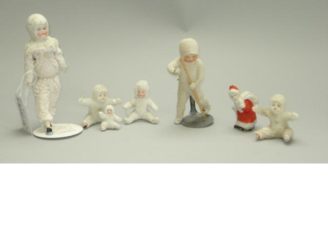 Collection of Snow Babies 8