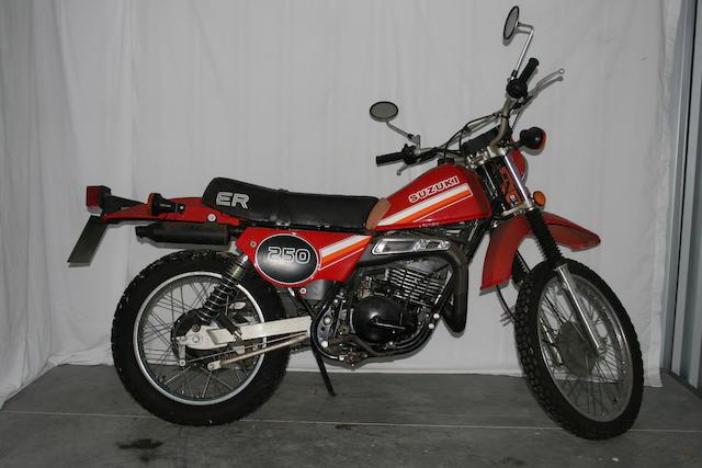 1982 Suzuki TS250 ER Frame no. TS250 400111688 Engine no. 54193
