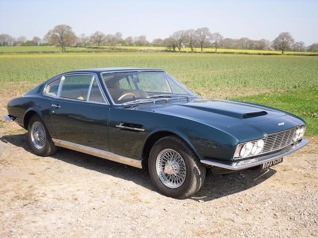 1969 Aston Martin DBS 6 vantage,