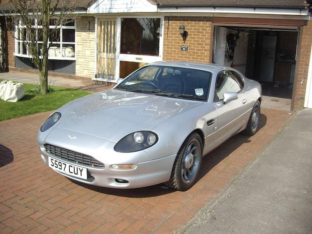 1998 Aston Martin DB7 Dunhill Coupé  Chassis no. SCFAA111XWK102242 Engine no. AM1/05-02098