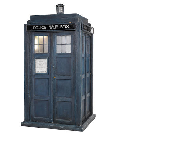 A complete Tardis prop, circa 2005 - The Ninth Doctor