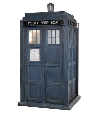 A complete Tardis prop, circa 2005 - The Ninth Doctor