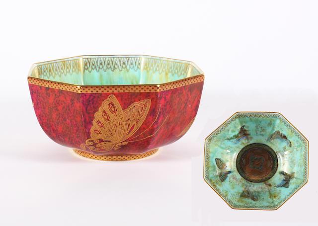 A Wedgwood lustre bowl