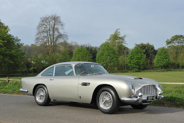 1965 Aston Martin DB5 4.2-Litre Sports Saloon  Chassis no. DB5/1676/R Engine no. 400/1660