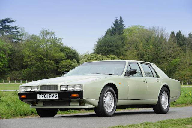 1989 Aston Martin Lagonda Series 4 Saloon  Chassis no. 13579 Engine no. V/585/3579