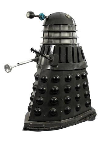A replica Dalek, created for exhibition purposes,