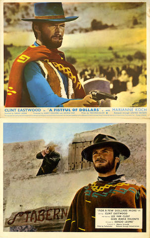 A large collection of lobby cards, front of house stills and campaign books, many relating to Westerns and British Comedy films, titles including; quantity