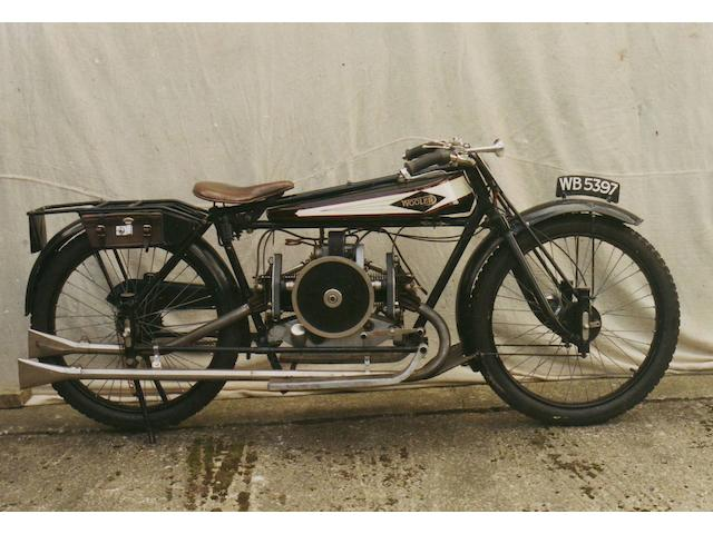 1926 Wooler 3½hp Standard Touring Model Frame no. 2D Engine no. 10010