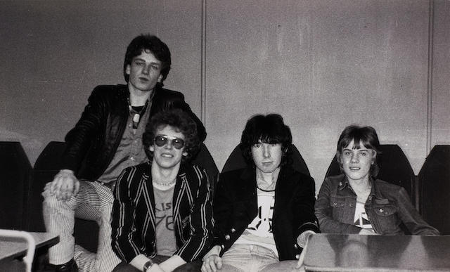 An historic set of photographs of U2 at the Stella Ballroom, Limerick, Ireland during the Limerick Civic Week Pop '78 Competition, 17th March 1978,