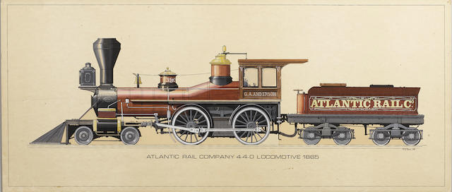 Western locomotive