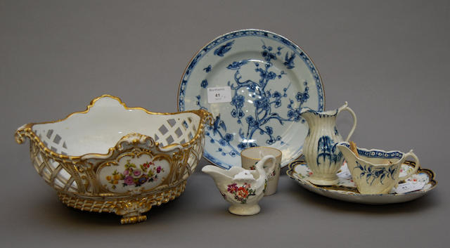 A group of various ceramics